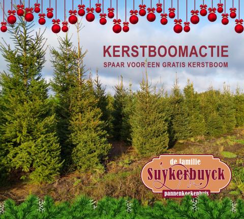 Kerstboomactie Suykerbuyck 2019