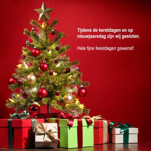 Kerst sluiting